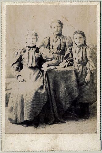 Three sisters and a book