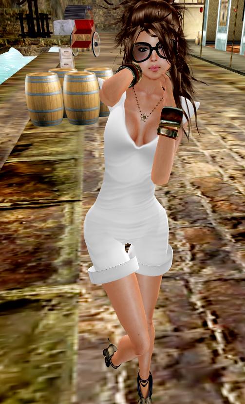 *Bebe Doll* Jasmina v2 - White