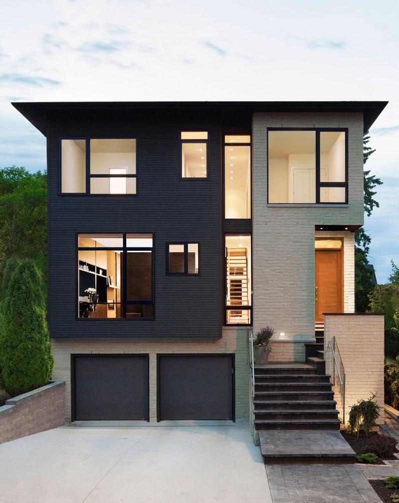 106 Desain Rumah Minimalis Modern Dan Unik Gambar Desain Rumah Minimalis