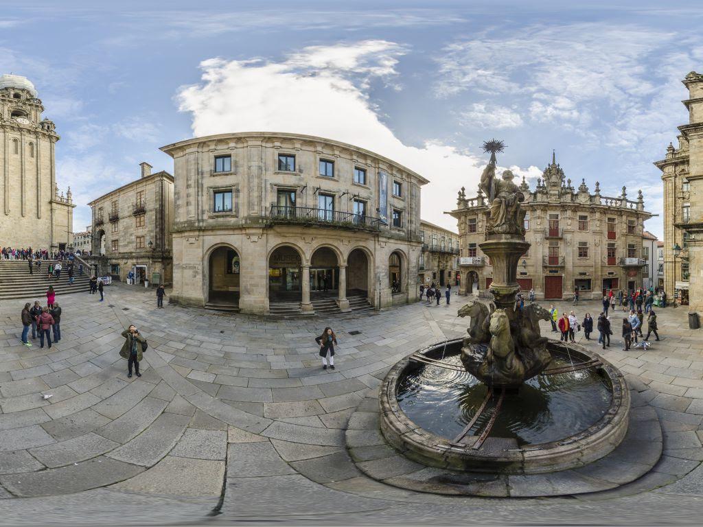 Resultado de imagen de Plaza de las Platerías quintana santiago