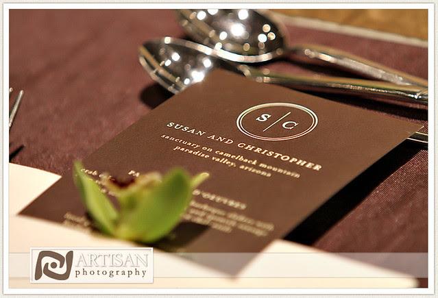 Sanctuary Wedding Brown Green Color Scheme