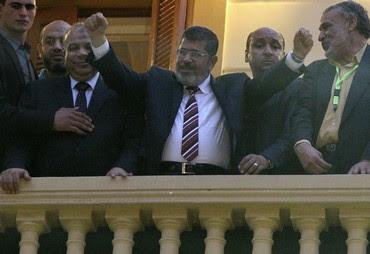 Muslim Brotherhood's Mohamed Morsy