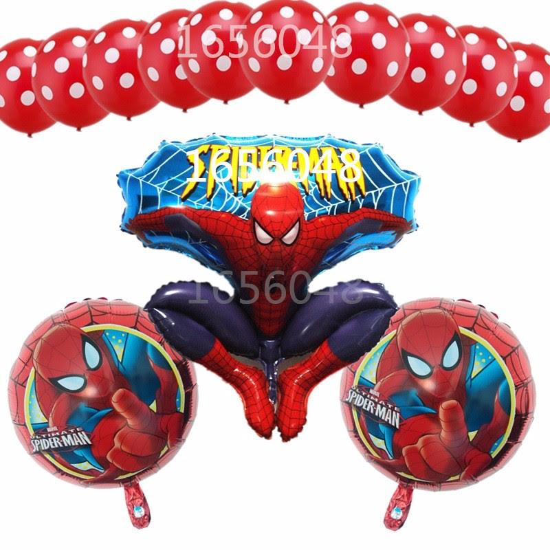 Online Buy Grosir spiderman dekorasi ulang tahun from