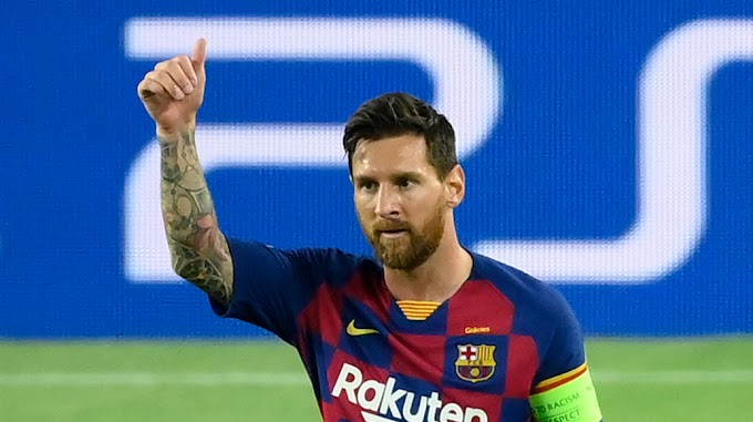 Manchester City planning January swoop for Messi