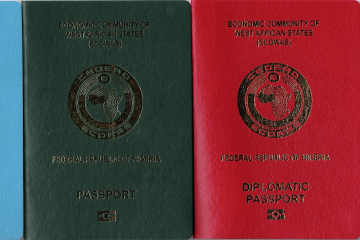Image result for images of nigerian passport