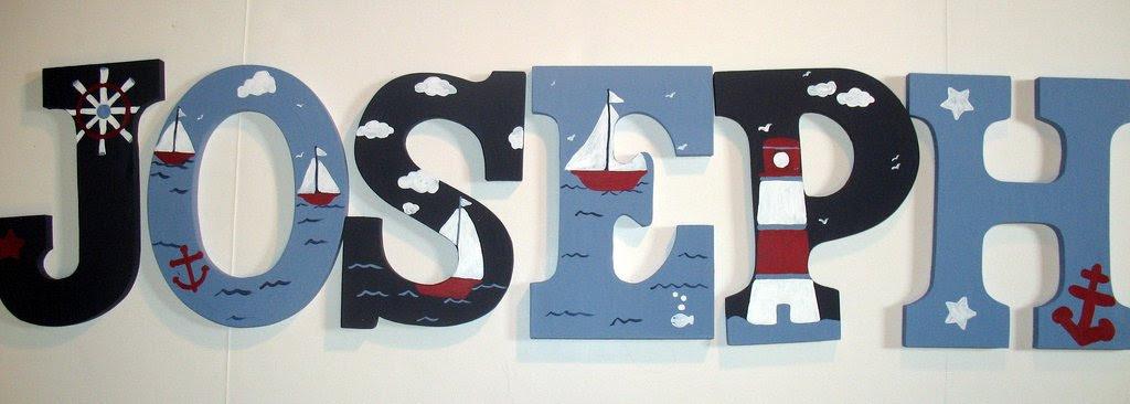 Zeebree Art Nursery Wall Letters My Latest Projects