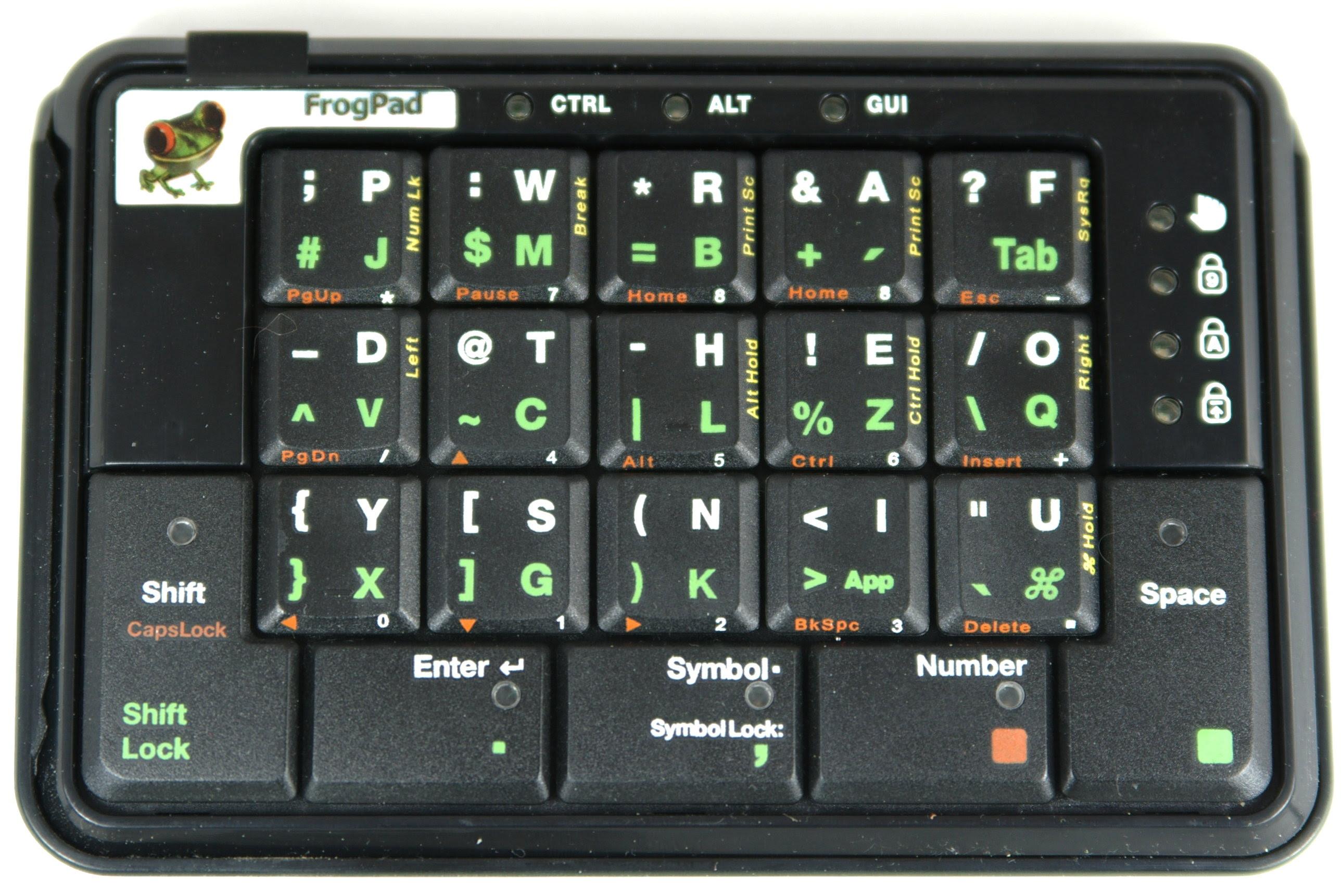 Frogpad Keyboard