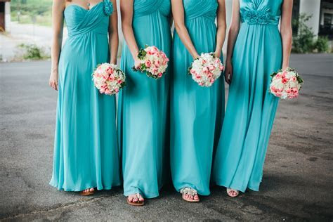 Teal and Pink Wedding Ideas   Bride Link