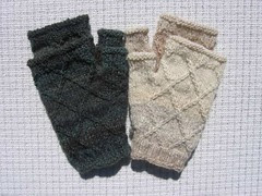 Rough Diamonds mitts