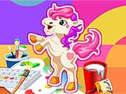 Pony Boyamapony Boyama Oyunuminika Oyunlarıoyun