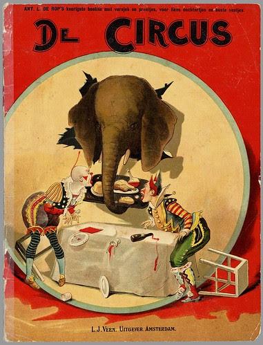 De circus  by Ant. L. de Rop, 1890