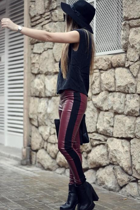 FASHION RACING PANTS