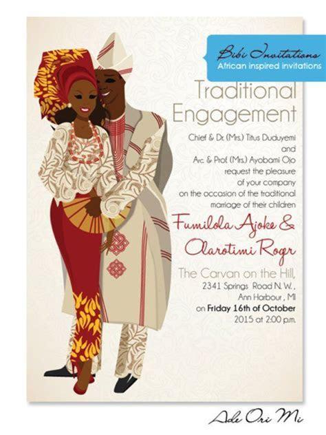 Wedding Invitations in Nigeria   engagement ideas