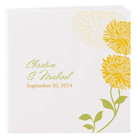 Zinnia Bloom Personalized Notepad Favor, 8 colors