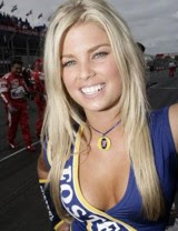 F1 Pit Babe: Must stay at least 100 yards away from
