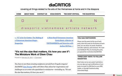 Diacritics Interview