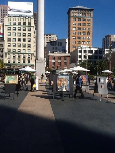 Union square San francisco by valspiers