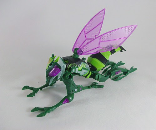 Transformers Waspinator Animated Deluxe - modo alterno