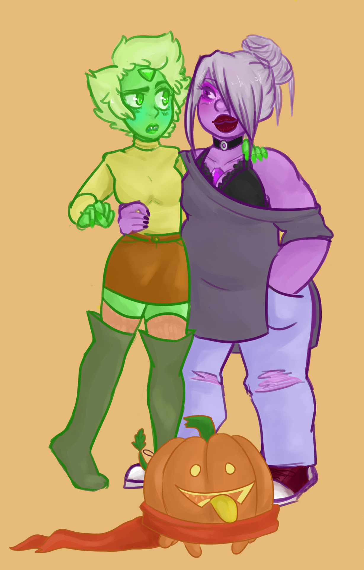Peridot is still trying to understand seasonal fashions