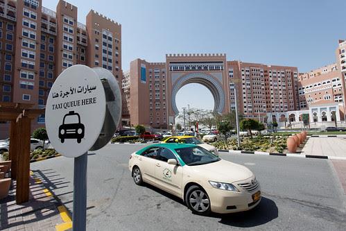 Taxi Stand at Ibn Battuta Mall