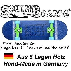 SOUTHBOARDS® Handmade Wood Fingerboard Holz Komplett Fingerskateboard N//GR//SWZ