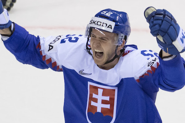 faac013437f6a Slovensko na záver zdolalo Dánsko, parádne rozhodol Nagy |MS v hokeji 2019