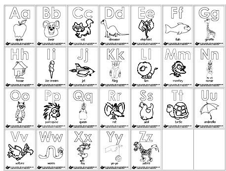 80 Printable Coloring Pages Alphabet Letters Download Free Images