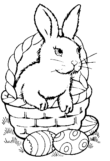 easter eggs in a basket pictures. Free Easter Basket Clipart