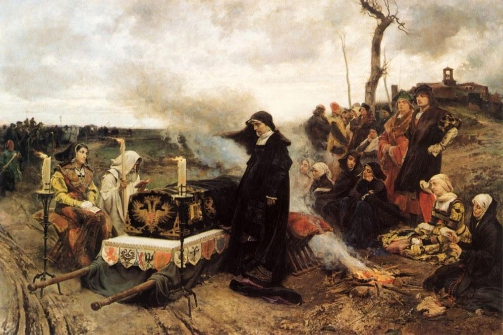 'Doña Juana la Loca', obra de Francisco Padilla y Ortiz...
