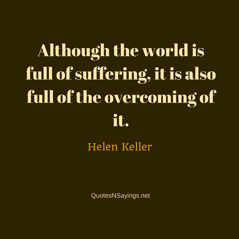 Helen Keller Quotes And Sayings