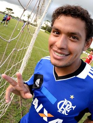 Treino Flamengo Carlos Eduardo (Foto: Alexandre Vidal)