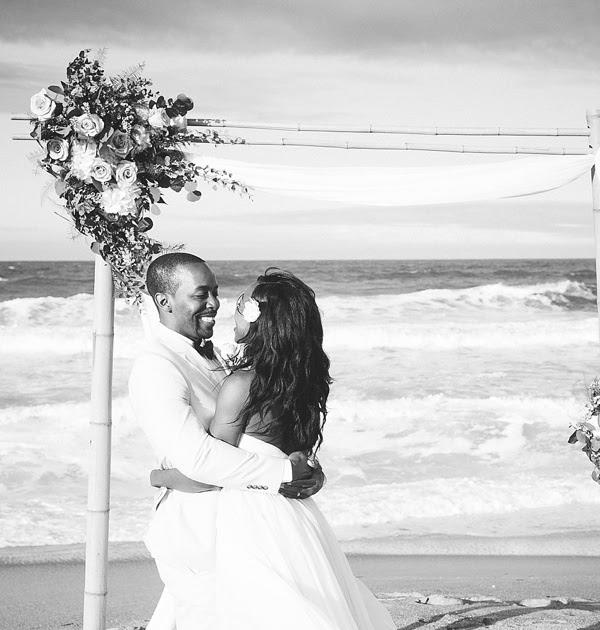 Yorktown Beach Wedding Ceremony: Windswept Intimate Wedding On The Seashore