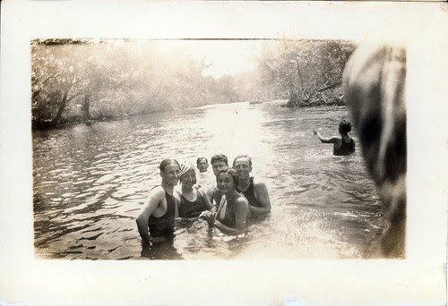 At the old swimmin hole 1930