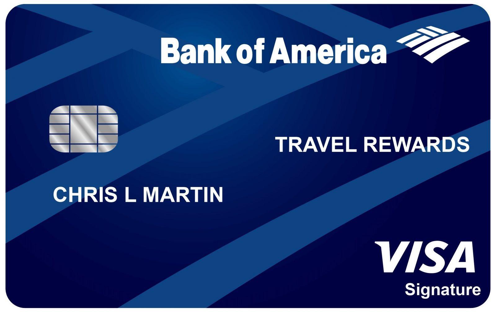 Bankamericard Travel Rewards Credit Card Storyv Travel Lifestyle
