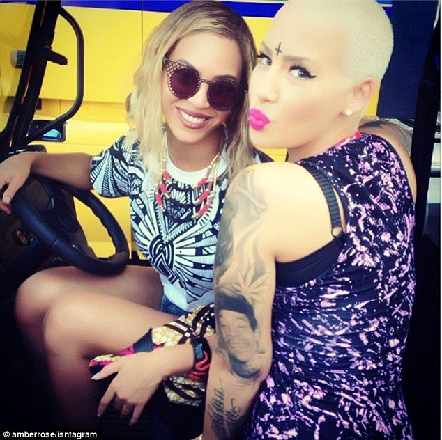 Commentary: Amber Rose compared how people view her in comparison to Beyonce and received backlash from it