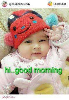 Cute Baby Saying Good Morning Wallpaper Babangrichieorg