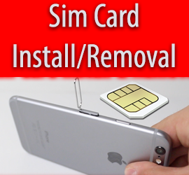 How To Insert And Remove Sim Card - iPhone 6 & 6 Plus