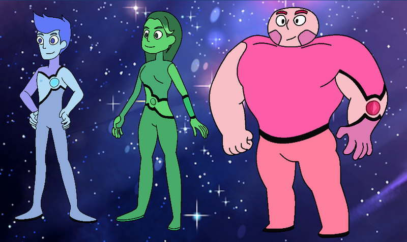 Galactic Gems: A Steven Universe Team of Gems by ...