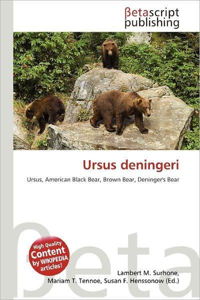 Ursus Deningeri