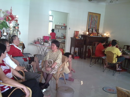 First day of Chinese New Year, family gathering at uncle's house 4