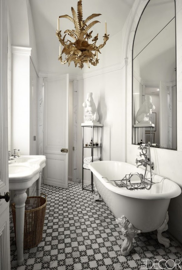Vintage Bathroom Design Ideas | InteriorHolic.com