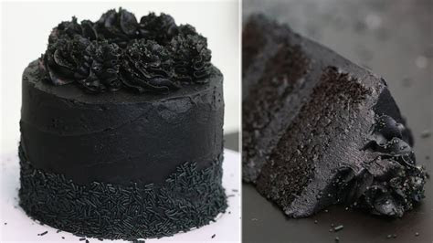 BLACKEST BLACK CAKE RECIPE WITH CHARCOAL!   Black Cake