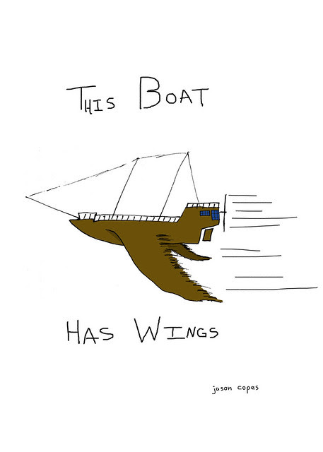 This Boat Has Wings