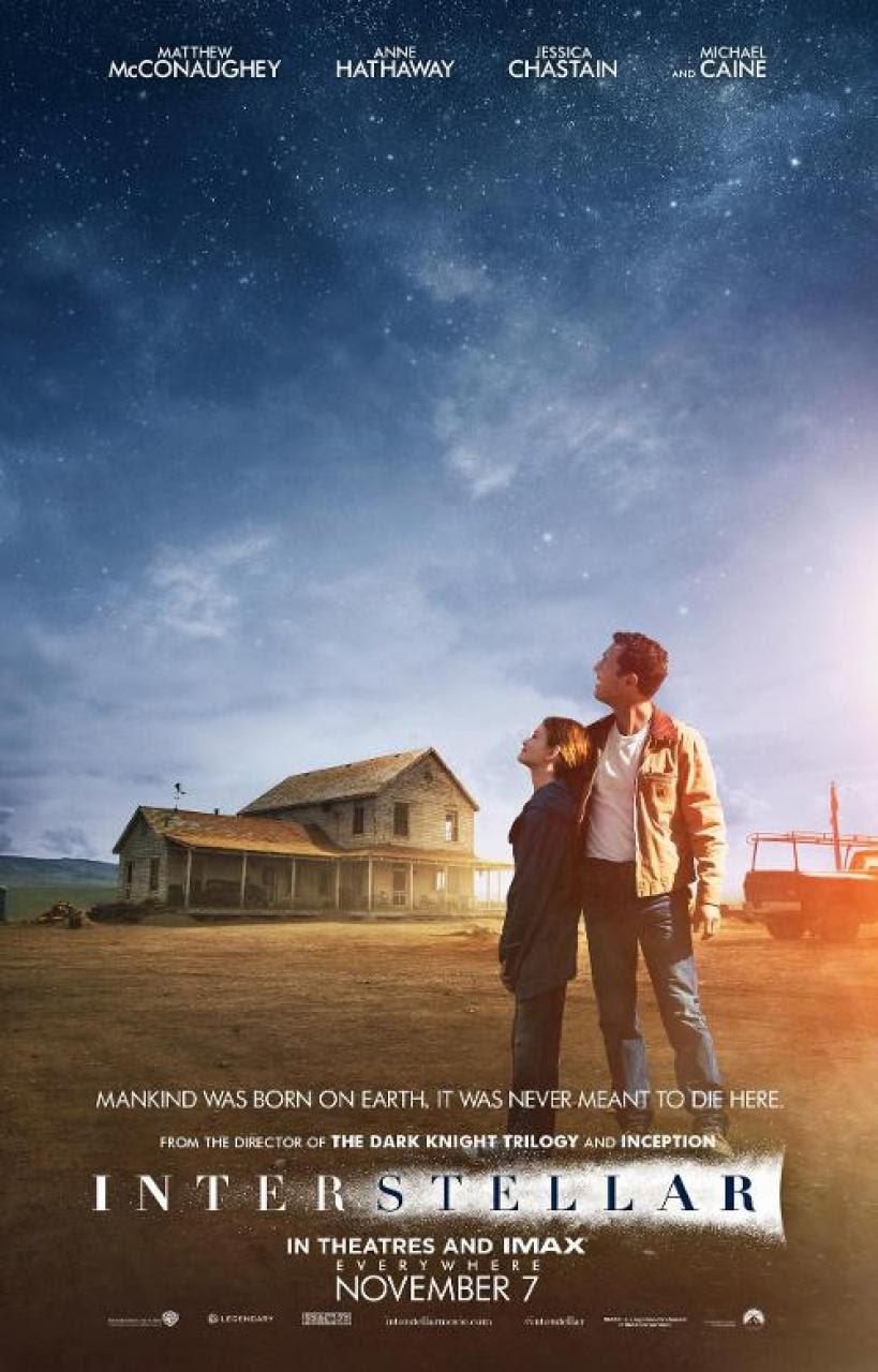 Interstellar (2014) Matthew McConaughey - Movie Trailer, Release Date, Cast, Plot