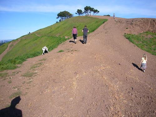 Bernal Heights hill