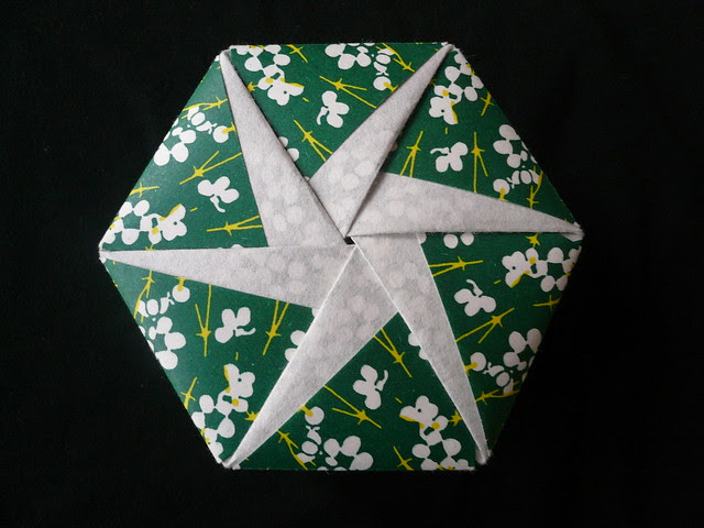 Hexagonal Origami Box