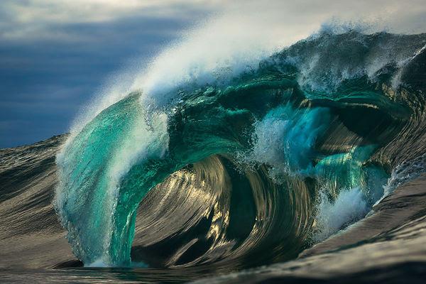Австралийский фотограф Matt Burgess 6 лет фотографировал океанские волны, вот некоторые его работы волны, море, фото, длиннопост