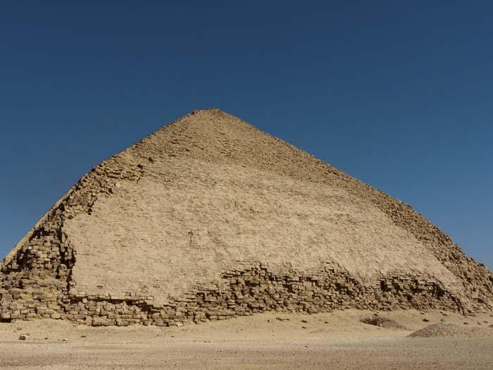 King Snefru's Bent Pyramid