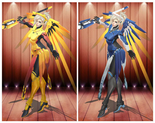 MMD Mercy Epic Skin