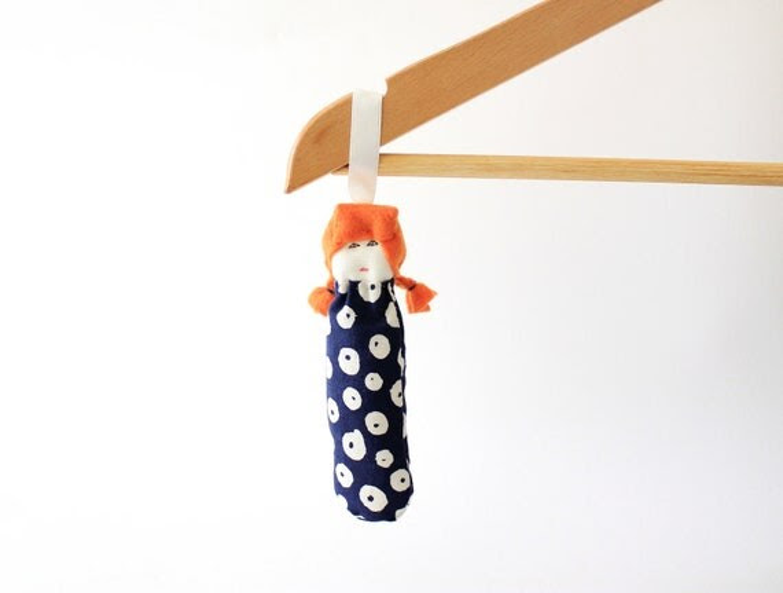 Custom lavender sachet mini doll Beltrana by Fulana, Beltrana e Sicrana